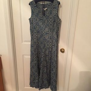 Coldwater Creek crinkle fabric dress